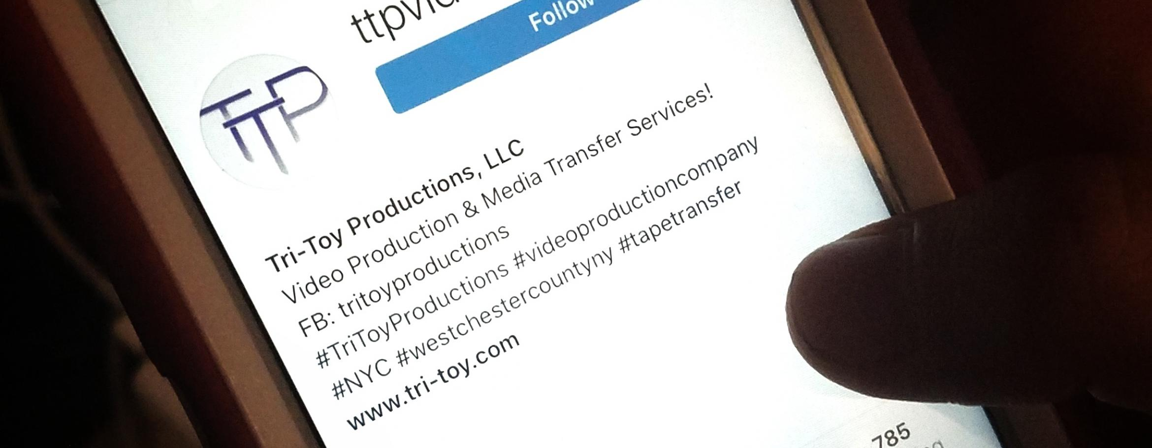 Social Media Vertical Video - Tri-Toy Productions NY, NYC, Westchester