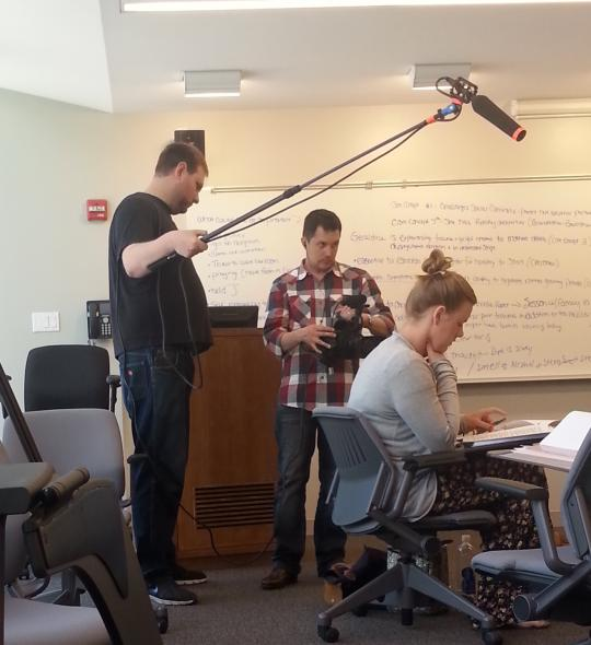 Fordham University Conference Shoot - Tri-Toy Productions