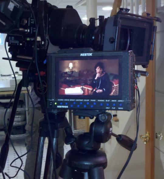Infomercial shoot in Westchester County, NY for a new product launch.