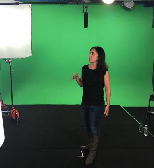 Green Screen Shoot for a product launch in Manhattan, NY